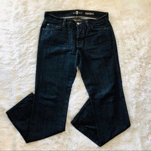 7 For All Mankind Standard Straight Leg Button Fly